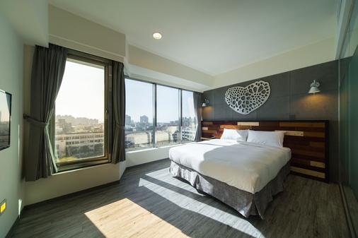 Xinshe Hotel - Hsinchu - Hsinchu City - Bedroom