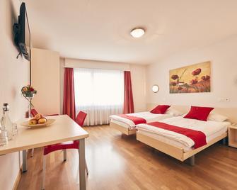 Hotel Restaurant Elite Visp - Visp - Bedroom