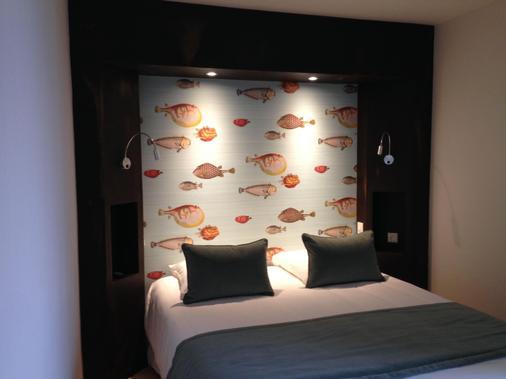 Citotel Les Agapanthes - Paimpol - Bedroom
