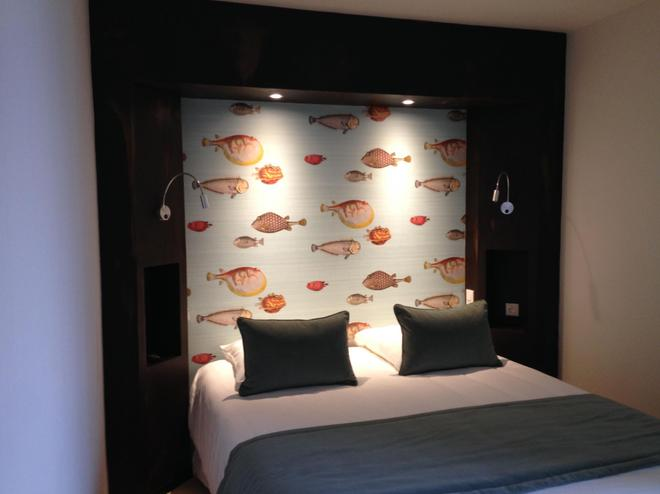 Citotel Les Agapanthes - Paimpol - Schlafzimmer