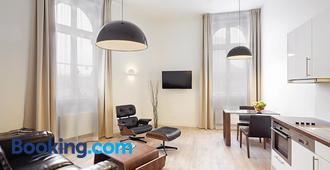 The Red Apartments - Düsseldorf - Sala de estar