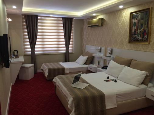 Otel Cavusoglu - Adana - Phòng ngủ