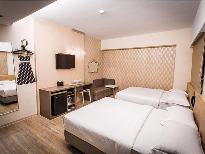 Hooray Boutique Hotel - Kaohsiung - Bedroom