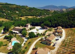 Valle Rosa - Spoleto - Vista externa