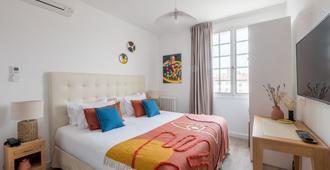 Hôtel La Tour de Nesle La Rochelle Vieux Port - La Rochelle - Bedroom