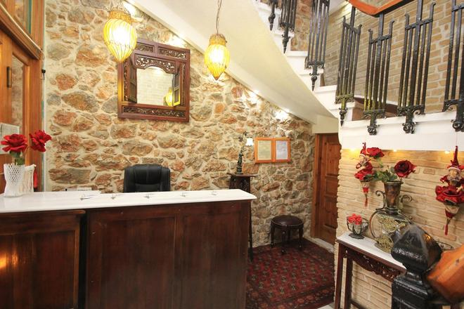 Neos Olympos Hotel - Athens - Front desk