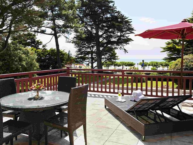卡斯特勒瑪麗路易士酒店 - 拉博爾埃斯庫布拉克 - 拉波勒-埃斯庫布拉克 - 陽台
