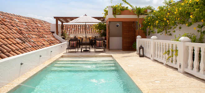 Hotel Boutique Casa del Coliseo - Cartagena - Pool