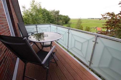 Landhotel Bauernstuben - Neuharlingersiel - Balkon