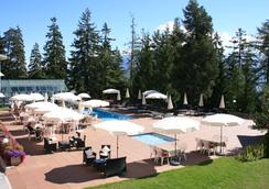 Arenas Resort Valaisia - Crans-Montana - Piscina