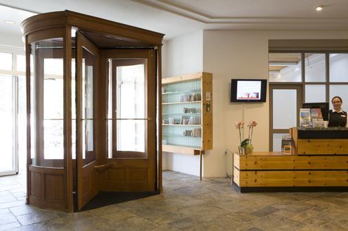 Arenas Resort Schweizerhof - Sils im Engadin/Segl - Lobby