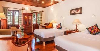 湄公河景觀酒店 - 龍坡邦 - 龍坡邦 - 臥室