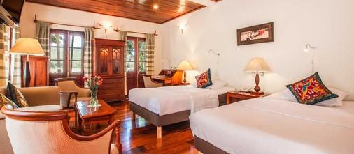 Mekong Riverview Hotel - Luang Prabang - Schlafzimmer
