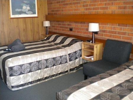Moama Central Motel - Moama - Bedroom