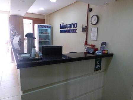 Hotel Minuano Home - Porto Alegre - Front desk