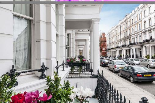 Trebovir Hotel - Lontoo - Näkymät ulkona