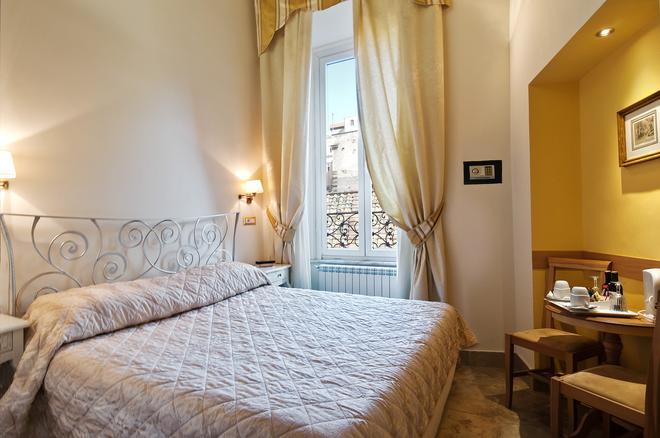 克拉麗絲酒店萬神殿 - 羅馬 - 羅馬 - 臥室