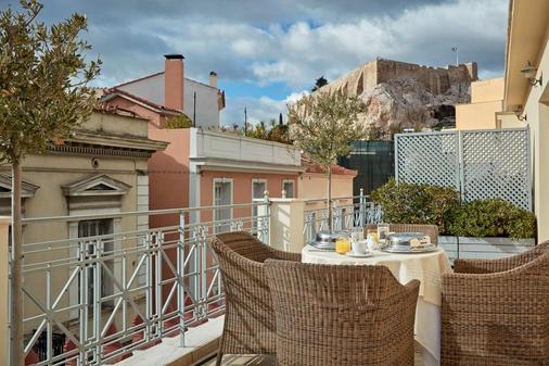 阿瓦套房公寓酒店 - 雅典 - 陽台