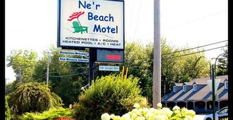 Ne'r Beach Motel - Wells - Κτίριο