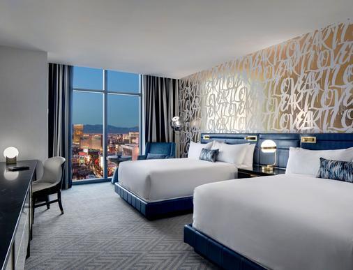 拉斯維加斯大都會酒店 - 拉斯維加斯 - 臥室