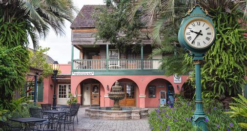 St George Inn - St. Augustine - Rakennus