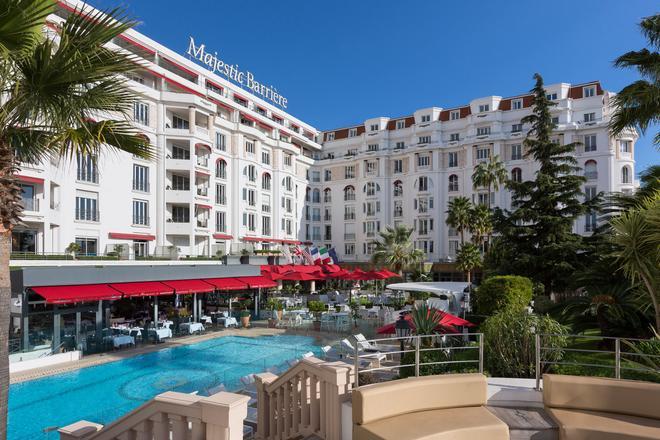 Hôtel Barrière Le Majestic Cannes - Cannes - Bể bơi
