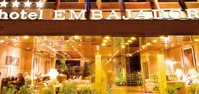 Hotel Embajador - Μοντεβιδέο - Κτίριο