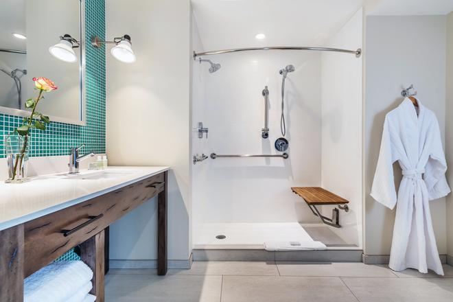 溫泉西凱富酒店 - 卡利斯托加 - 卡利斯托加 - 浴室