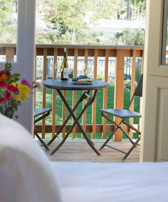 Brannan Cottage Inn - Калистога - Балкон