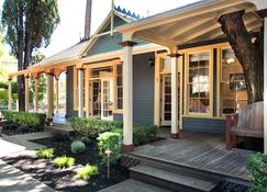 Brannan Cottage Inn - Calistoga - Bygning