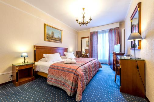 Hotel Diplomate - Geneva - Bedroom