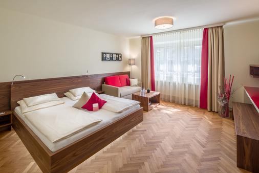 Hotel Rosenvilla - Salzburg - Makuuhuone