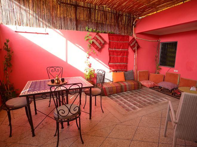 Wiky Hostel - Marrakesh - Patio
