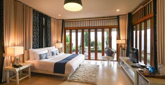 The Blue Sky Resort@ Ranong - Mueang Ranong - Bedroom