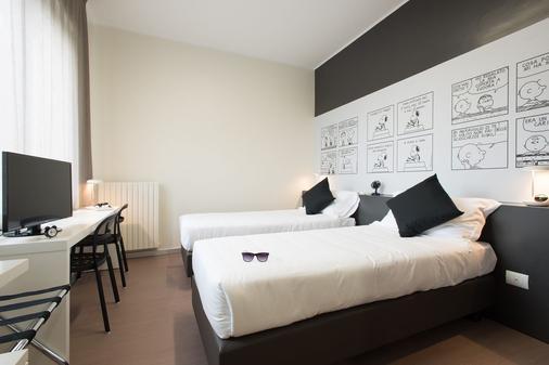 Hotel Ornato - Mediolan - Sypialnia