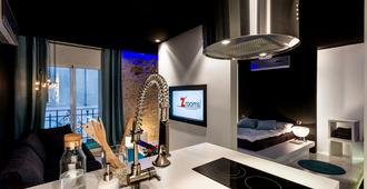Zrooms&Suites Hostel Boutique - Zaragoza - Kitchen