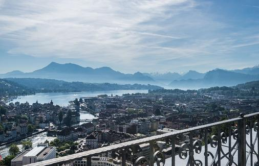 Chateau Guetsch - Lucerne - Balcony