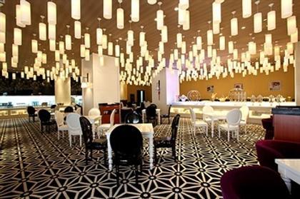 New Beacon Luguang International Hotel - Wuhan Optics Valley Plaza - Wuhan - Ravintola