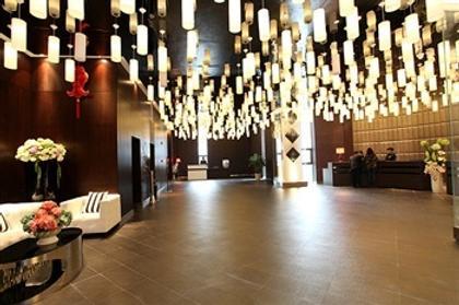New Beacon Luguang International Hotel - Wuhan Optics Valley Plaza - Wuhan - Aula