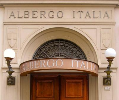 Hotel Italia - Porretta Terme - Außenansicht