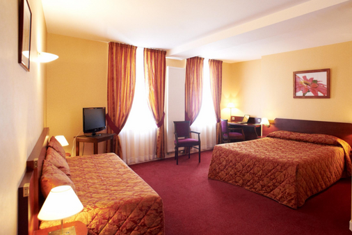 Hôtel Le Pelican - Vernantes - Bedroom