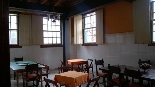Brumas Ouro Preto Hostel - Ouro Preto - Ravintola