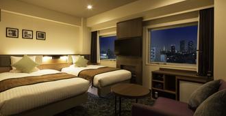 Hotel Mystays Gotanda Station - טוקיו - חדר שינה