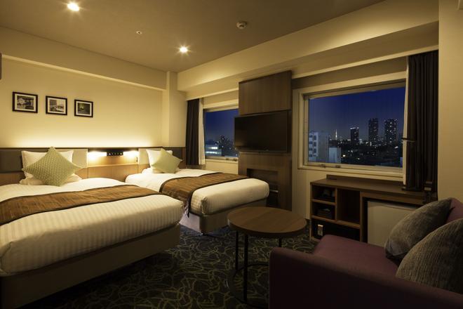 Hotel Mystays Gotanda Station - Tokyo - Bedroom