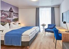 Hotel Central Luzern - Luzern - Makuuhuone