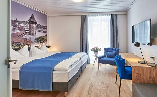 Hotel Central Luzern - Lucerne - Phòng ngủ