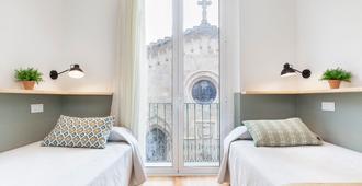 Hostal Fernando - ברצלונה - חדר שינה
