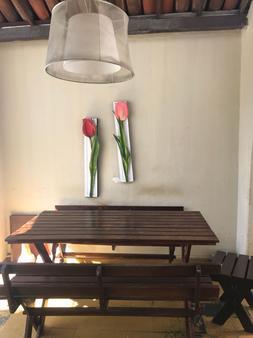 Okay Iracema Hostel - Fortaleza - Dining room