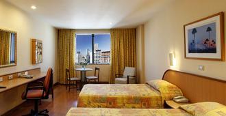 瓜納巴拉溫莎酒店 - 里約熱內盧 - 里約熱內盧 - 臥室