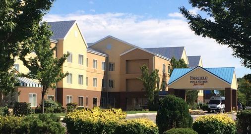 Fairfield Inn & Suites by Marriott Salt Lake City Airport - Salt Lake City - Toà nhà